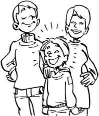 отец и мать - идеальное воспитание