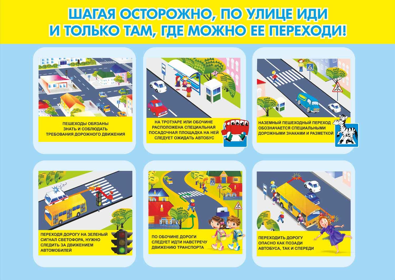 Безопасность дорожного движения в картинках для школьников 10