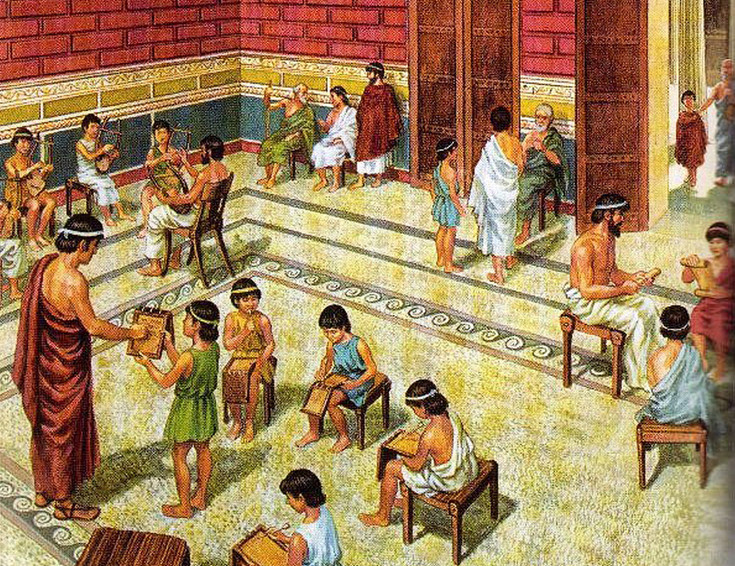 the way of life in ancient greece